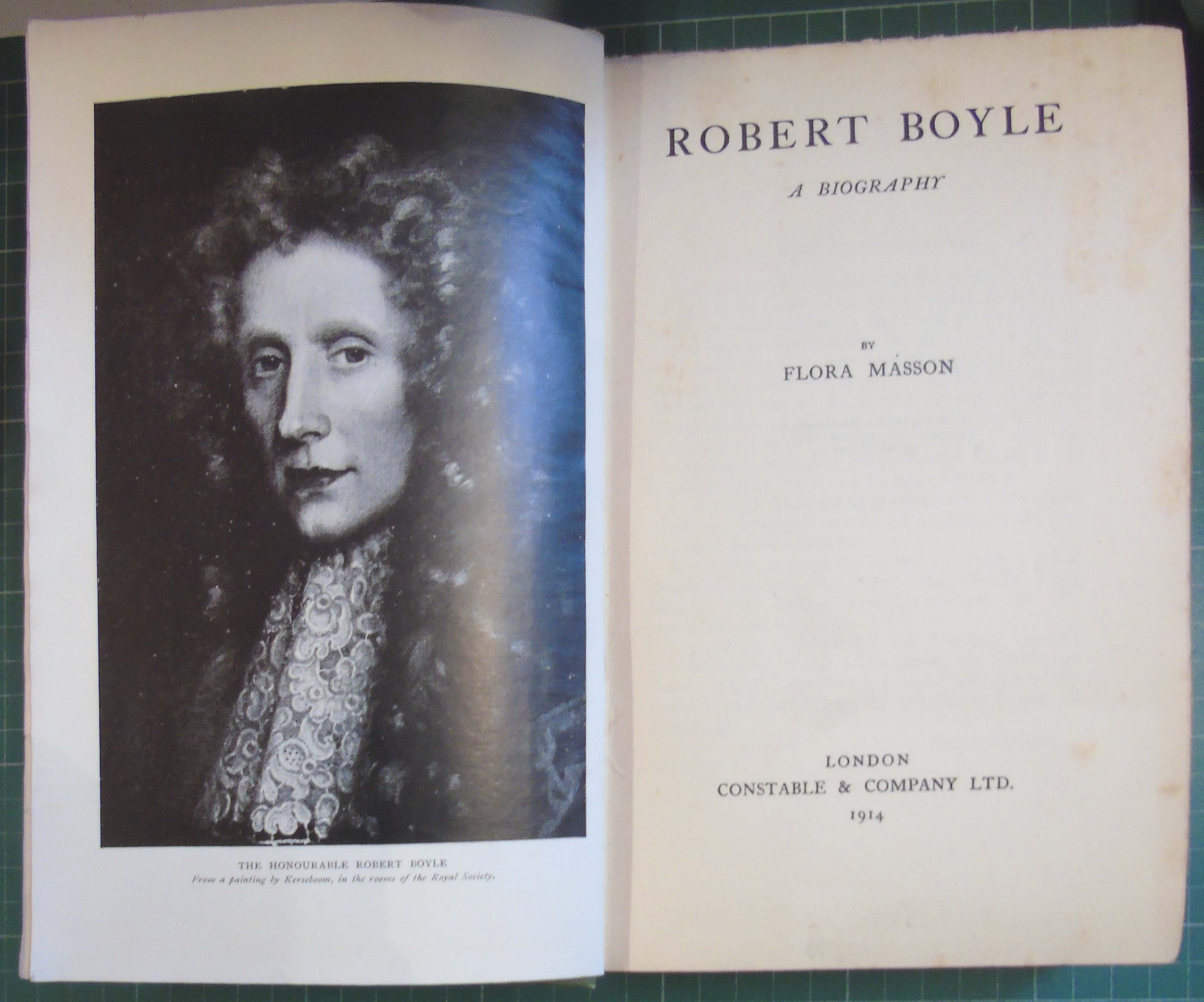 robert boyle essay This volume comprises michael hunter's most recent and important essays on  robert boyle, collecting six previously published articles, slightly amended for.