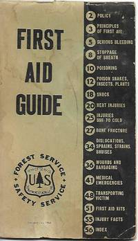 First Aid Guide (Uniform Pocket Sized Book) 1958 Revision