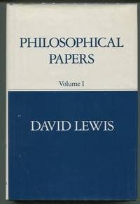 Philosophical Papers: Volume I.