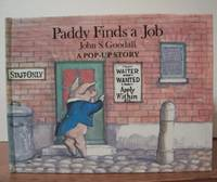 image of PADDY FINDS A JOB.  ( Pop-up and movable book )