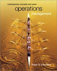 image of Operations Management: Contemporary Concepts