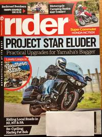 Rider Magazine April 2019, YAMAHA UPGRADES, Riding Local Roads In NJ, NY & PA, Honda NC750X
