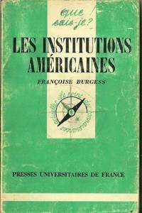Institutions americaines (les)