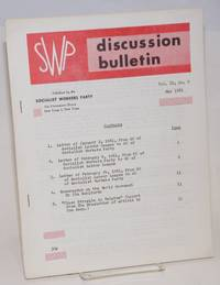 image of SWP discussion bulletin, vol. 22, no. 9 (May, 1961]