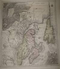 (Map of colonial northeastern Canada): Partie Orientale de la Nouvelle France ou du Canada...Terre-Neuve...Nouvelle Ecosse Acadie...T. Conrad Lotter Graveur et Geogr