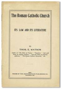 The Roman Catholic Church: its Law and its Literature