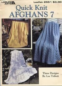 Quick Knit Afghans 7 Leaflet 2551