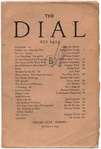 Mrs Dalloway in Bond Street [in The Dial - Volume LXXV, Number 1, July 1923]