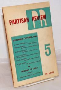 image of Partisan review, a literary monthly.  Vol. 7, no. 5, Sep-Oct, 1940