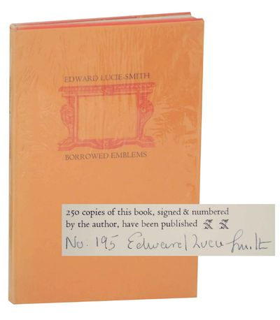 London: Turret Books, 1967. First edition. Hardcover. Number 195 from an edition of 250 copies. A ne...