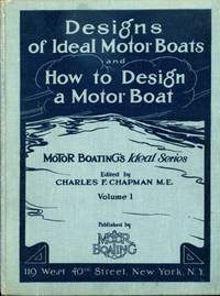 Designs of Ideal Motor Boats and How to Design a Motor Boat