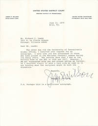 image of Typed Letter Signed