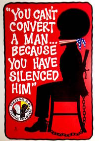 image of You Can't Convert a Man... Because You Have Silenced Him