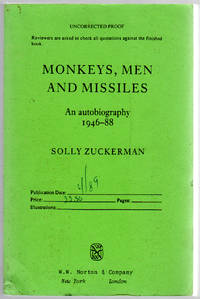 Monkeys, Men and Missiles: An Autobiography 1946-88
