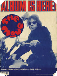 image of Poster advertisement for the 1968 debut album by