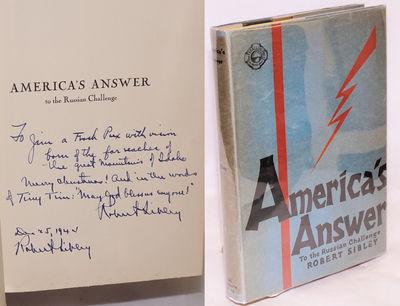 San Francisco: Farallon Press, 1931. Hardcover. xi, 171p., illustrated with numerous b&w photoreprod...