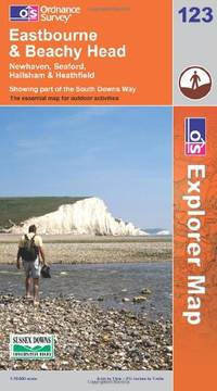 image of Eastbourne and Beachy Head (OS Explorer Map)