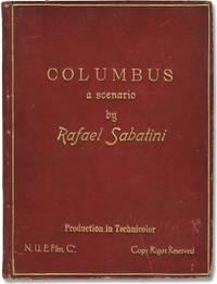 image of Columbus (Original screenplay for an unproduced film, circa 1939)