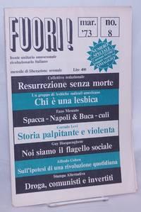 image of FUORI! fronte unitario omosessuale riviluzionario italiano; mensile di liberazione sessuale; #8, mar.1973: numero speciale;