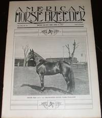 image of Vintage Issue of the American Horse Breeder Magazine for April 17th , 1912