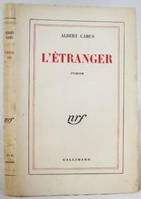 Albert Camus Signed Later Edition of his Famous Novel L'Etranger