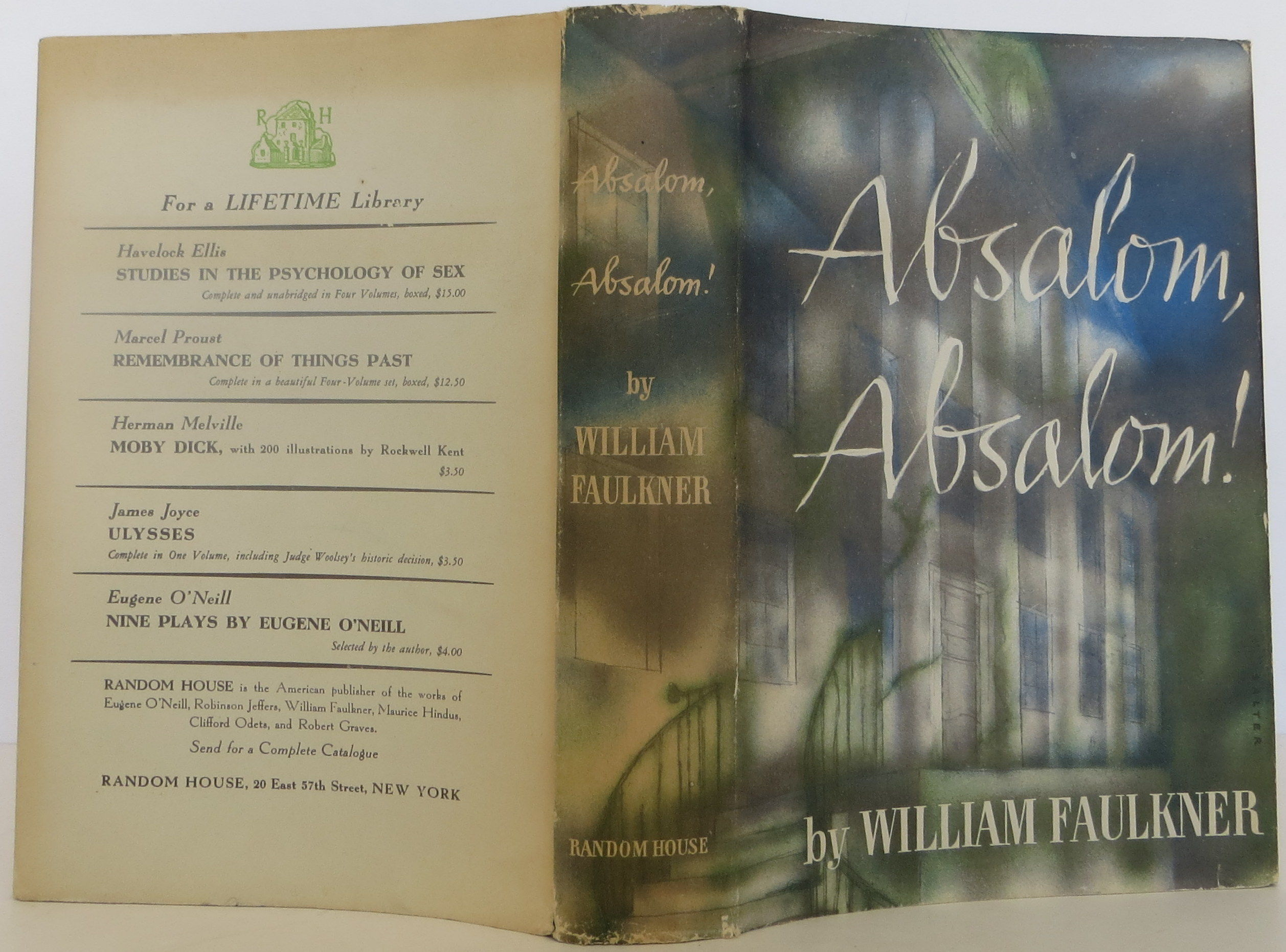 A summary of the novel absalom absalom by william faulkner