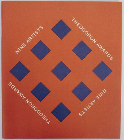 New York: The Solomon R. Guggenheim Museum, 1977. First edition. Softcover. 36 pages. Exhibition cat...