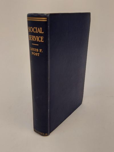 New York: A. Wessels, 1909. Presumed First Edition. Hardcover. 8vo., 361 pp., VG-/no DJ; blue cloth ...
