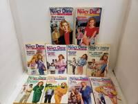 Lot of 10 Nancy Drew Case Files by Carolyn Keene Paperbacks #1-3 5 8 12 15-17 19