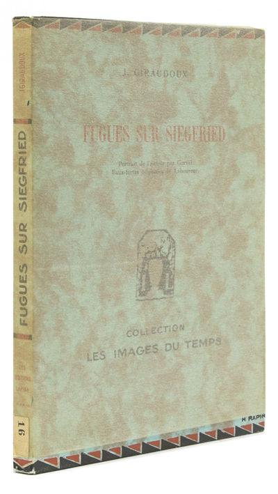 Paris: Editions Lapina, 1930. Edition deluxe, one of 19 copies on Vieux Japon with the extra suite o...