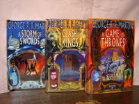 BOOKS ONE, TWO AND THREE OF A SONG OF ICE AND FIRE: A GAME OF THRONES; A CLASH OF KINGS; A STORM OF SWORDS