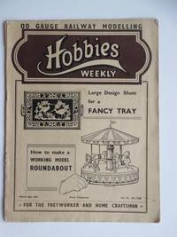 image of Hobbies weekly for the fretworker and craftsman. 2 issues: Vol 91 no. 2368  (March 8th, 1941) & Vol 92 no. 2379 (May 24th, 1941)