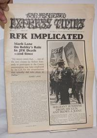 image of San Francisco Express Times, vol.1, #14, April 18, 1968: RFK Implicated; Mark Lane on Bobby's role in JFK's death