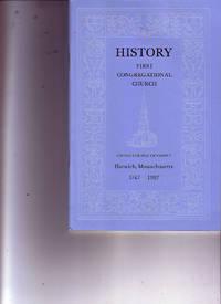 History: First Congregational Church, Harwich, Massachusetts 1747-1997