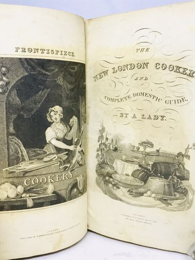 London: G. Virtue, nd c.1827. First Edition. Hardcover. Half Bound leather with marbled boards. Good...