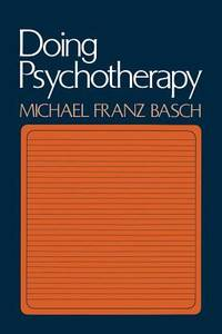 Doing Psychotherapy