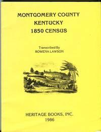Montgomery County Kentucky 1850 Census