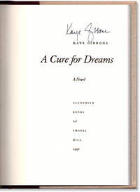 A Cure for Dreams.
