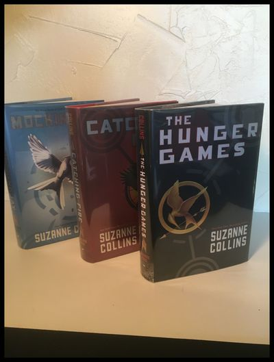 The Hunger Games Trilogy, Three...