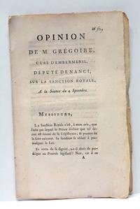 Opinion sur la Sanction Royale.