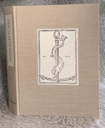 The Aldine Press: Catalogue of the...