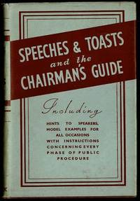image of Speeches and Toasts and The Chairman's Guide and Secretary's Companion