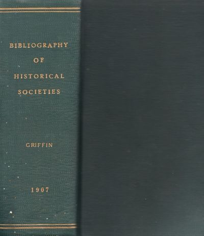 Washington DC: Government Printing Office, 1907. Second Edition, Revised and Enlarged. Hardcover. Fa...