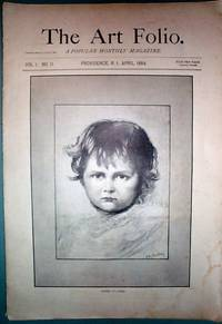 image of The Art Folio for April 1884 Popular Vintage Monthly Magazine