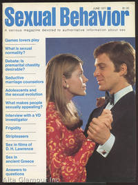 SEXUAL BEHAVIOR; A Serious Magazine Devoted To Authoritative Information About Sex