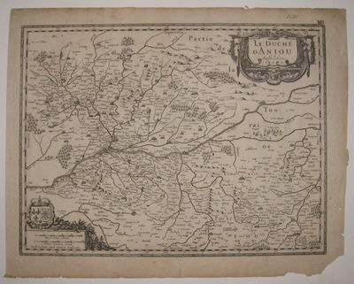 Amsterdam: Jansson, J.. unbound. very good(-). Map. Uncolored engraving. Image measures 14.75