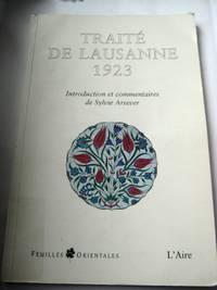 Traite De Lausanne 1923