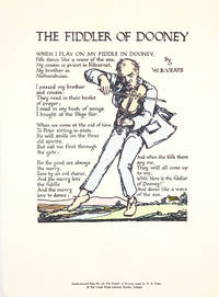 The Fiddler of Dooney ( Handcoloured Print )