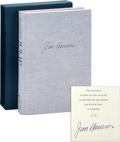Boston: Houghton Mifflin, 1994. First Edition. Limited Issue, one of 200 numbered copies signed by J...