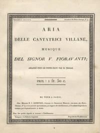 Aria delle Cantatrice Villane .. arrangé pour le forte-piano par M. Thollé